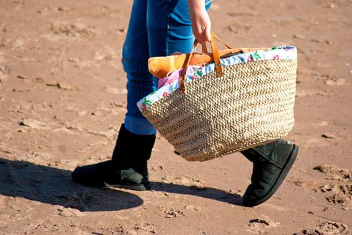 Abfallvermeidung Tasche statt Plastiktüte